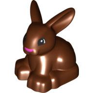 [New] Кролик коричневый. /Lego DUPLO. Parts.