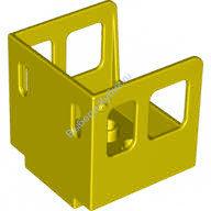 [New] Кабина 3х3х3 желтая. /Lego DUPLO. Parts. 4544