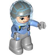 [New] Майлз в шлеме. /Lego DUPLO. Parts.