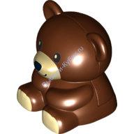 [New] Мишка Тедди коричневый. /Lego DUPLO. Parts. 6174866