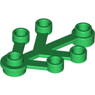 [New] Plant Leaves 4 x 3, Green. /Lego. Parts. 2423 / 242328
