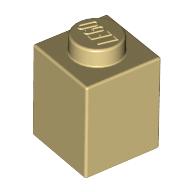 [New] Brick 1 x 1, Tan (3005 / 4113915)