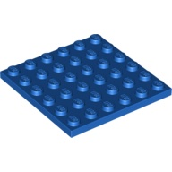 [New] Plate 6 x 6, Blue (3958 / 4199519)