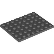 [New] Plate 6 x 8, Dark Bluish Gray (3036 / 4210794)