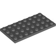 [New] Plate 4 x 8, Dark Bluish Gray (3035 / 4211061)