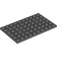 [New] Plate 6 x 10, Dark Bluish Gray (3033 / 4211114)