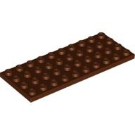 [New] Plate 4 x 10, Reddish Brown (3030 / 4225715)