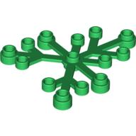 [New] Plant Leaves 6 x 5, Green. /Lego. Parts. 2417 / 241728 / 4613823
