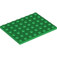 [New] Plate 6 x 8, Green (3036 / 303628 / 4507311)