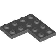 [New] Plate 4 x 4 Corner, Dark Bluish Gray (2639 / 4539429)