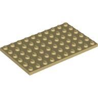 [New] Plate 6 x 10, Tan (3033 / 4218966 / 4624185)