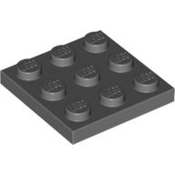 [New] Plate 3 x 3, Dark Bluish Gray (11212 / 6039176)