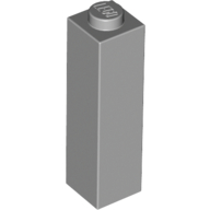 [New] Brick 1 x 1 x 3, Light Bluish Gray (14716 / 6061702)