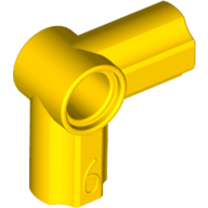 [New] Technic, Axle and Pin Connector Angled #6 - 90 degrees, Yellow (32014 / 4107069 / 6072968)
