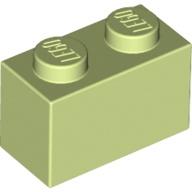 [New] Brick 1 x 2, Yellowish Green (3004 / 6104578)