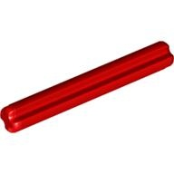 [New] Technic, Axle 4, Red (3705 / 4265797 / 6129995)