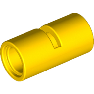 [New] Technic, Pin Connector Round 2L with Slot Pin Joiner Round, Yellow (62462 / 4526983 / 6173122)