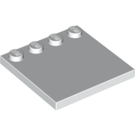 [New] Tile, Modified 4 x 4 with Studs on Edge, White (6179 / 617901)