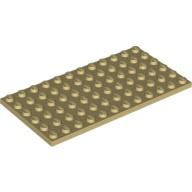 [New] Plate 6 x 12, Tan (3028 / 4188158 / 6185313)