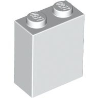 [New] Brick 1 x 2 x 2 with Inside Stud Holder, White. /Lego. Parts. 3245c
