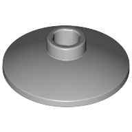 [New] Dish 2 x 2 Inverted (Radar), Light Bluish Gray. /Lego. Parts. 4740 / 4211512