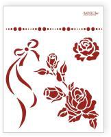 ТР. Barocci. ПВХ. 20*25. Розы. /Л-009