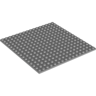 [New] Plate 16 x 16, Dark Bluish Gray. /Lego. Parts. 91405