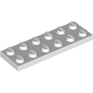 [New] Plate 2 x 6, White. /Lego. Parts. 3795