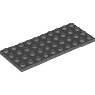 [New] Plate 4 x 10, Dark Bluish Gray. /Lego. Parts. 3030