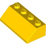[New] Slope 45 2 x 4, Yellow. /Lego. Parts. 3037