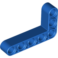 [New] Technic, Liftarm 3 x 5 L-Shape Thick, Blue. /Lego. Parts. 32526