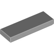 [New] Tile 1 x 3, Light Bluish Gray. /Lego. Parts. 63864