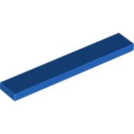 [New] Tile 1 x 6, Blue. /Lego. Parts. 6636