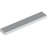 [New] Tile 1 x 6, White. /Lego. Parts. 6636