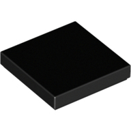 [New] Tile 2 x 2 with Groove, Black. /Lego. Parts. 3068b