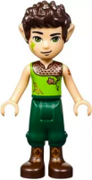 [New] Farran Leafshade, Dark Green Trousers, High Boots. /Lego. Minifigs. elf035